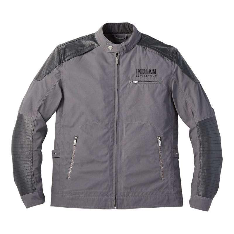Men's Textile Montana Jacket, Gray