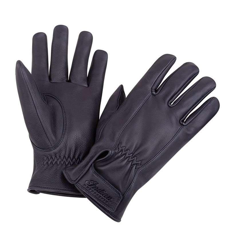 Men's Deerskin Strap Glove, Black