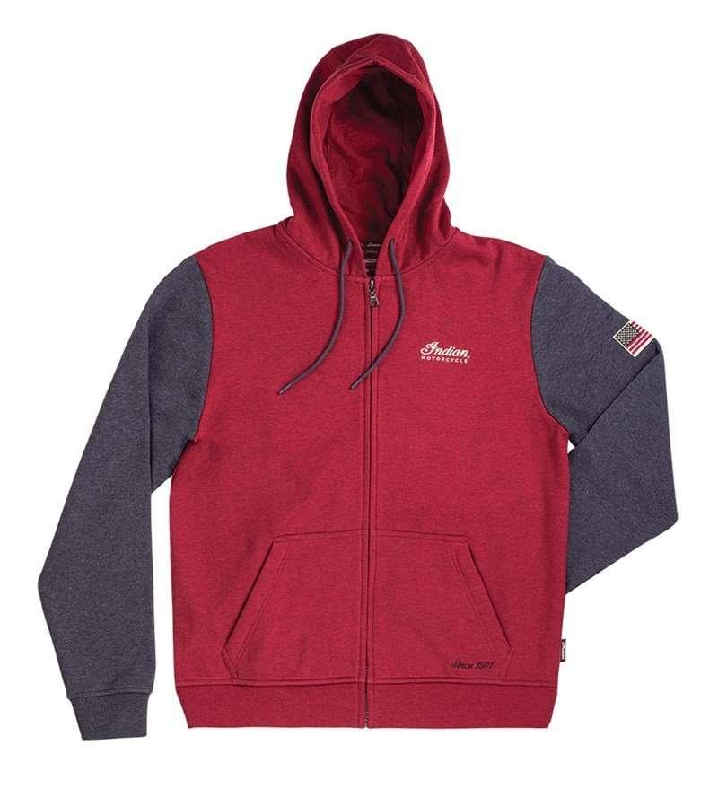 Men's Legend Hoodie Sweatshirt, Red
