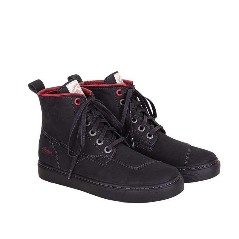 Women's Leather Bryant Sneaker, Black