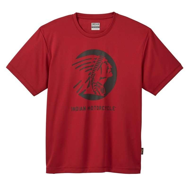 Men's Active T-Shirt, Red