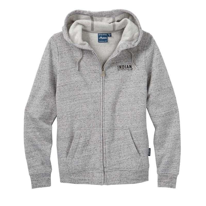 Women's Textured Logo Hoodie Sweatshirt, Gray