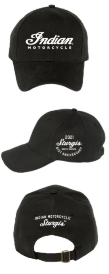 Indian Motorcycle Sturgis 81st Rally Hat- Black, Red, or Charcoal