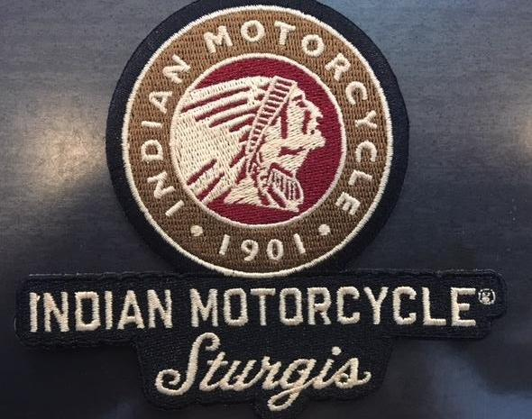 Indian Motorcycle Sturgis Icon Patch